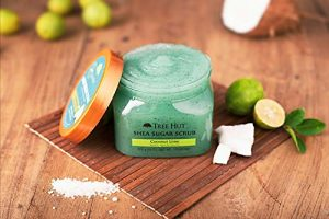 Tree Hut Shea Sugar Scrub – Coconut-Lime