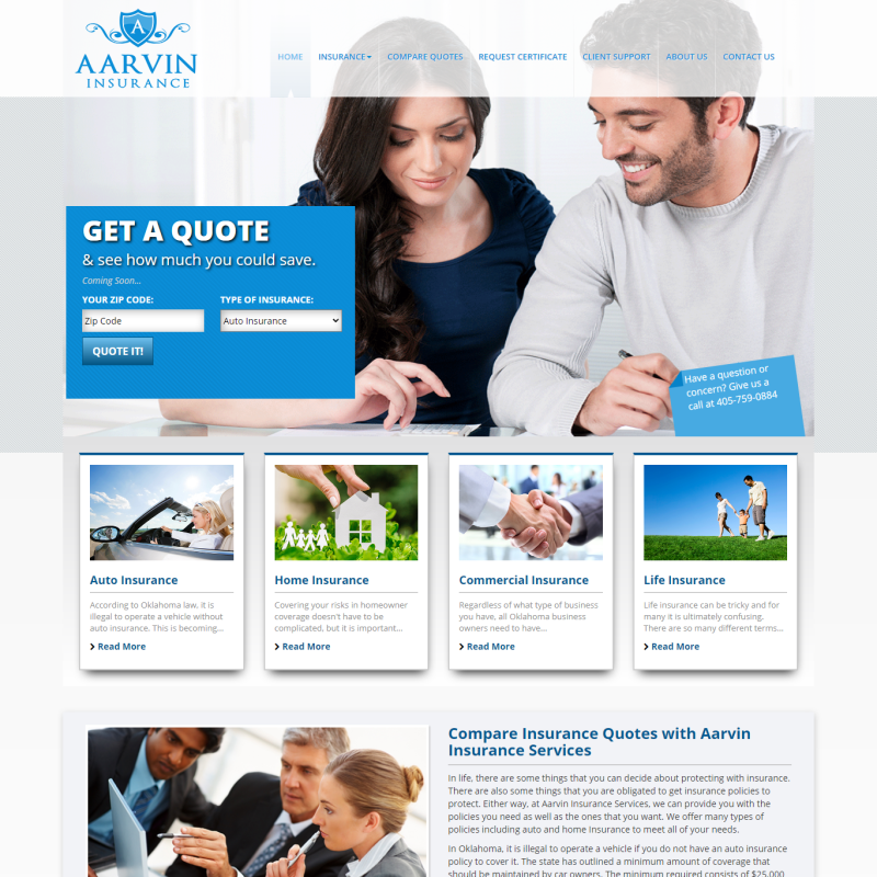 Aarvin Insurance Services