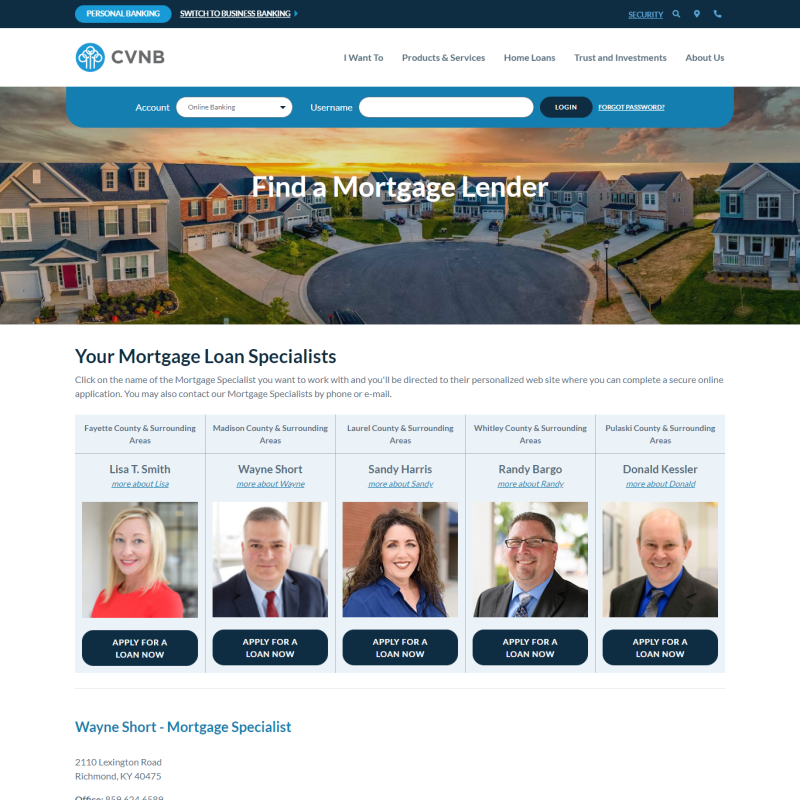 Cumberland Valley National Bank & Trust Company (Kentucky)