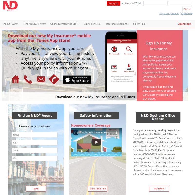 The Norfolk & Dedham Group