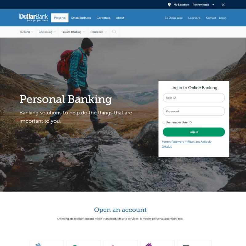 Dollar Bank, a Federal Savings Bank (Pennsylvania)