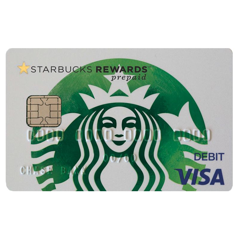 Starbucks Rewards Visa Prepaid Card