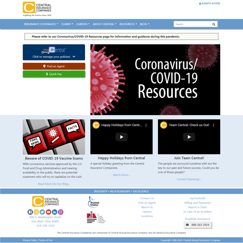Central Mutual Insurance Companies